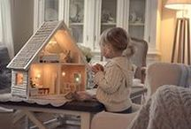 Doll houses / What little girl dreams are made of - enchanting places for their dolls to live.