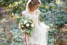 Beautiful Brides and their Gowns / A gathering stands, as one they look towards the end of the isle to see the bride. That gown, that lace, that veil. How beautiful she is on her wedding day. They all gasp in awe and marvel at her elegance and beauty
