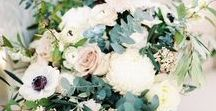 Wedding Florals / The flowers you choose for your wedding day should compliment you and everything about your day. The colour, style and texture of your flowers tell a story about you.