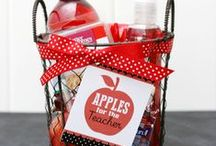 teacher gifts and school stuff / by Susan Campbell Carson