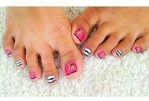 cute toenails/nails / by Kimberly Strange-Small