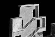 Model hub / Architectural models, sketches and experiments
