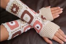 ✫ H✪✪Ked - HaηD - Wε@R ✫ / Crochet Fingerless Gloves, Crochet Texting Gloves, Crochet Mitts, Crochet Mittens, etc.... patterns and ideas..... Free Crochet Patterns