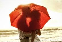 ◄ Tн@т • ЯeD • UмЬяєʟʟA ► / Red Umbrella ........