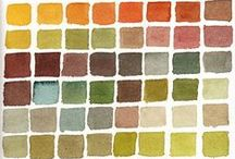 color palettes  / by Allison Mosher