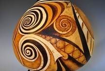▣ Ѻυт • øf • У0υя • G0υRd ▣ / Gourd Art .... Carved Gourds ... Painted Gourds ....