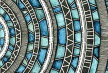 ◇◆◇ZeηTAηglE◆◇◆ / Zentangle art ....Mandalas... and other Designs worth saving for inspiration .....