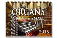 Pipe organ calendars / Calendars showing a variety of gorgeous pipe organs, big and small, old and new, from almost everywhere!  Organs from five continents, in cathedrals, churches, town halls, and concert halls are shown in all their splendour. Many are well known but others are hidden treasures which deserve to be seen. Some also show them in situ so you get an idea of the buildings that house them. In order to view the calendars and (hopefully!) buy them, click on the images below to go directly to the calendar.