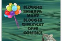 Blogger Opps / Blogger Opps for giveaways, blog hops and sponsored posts.