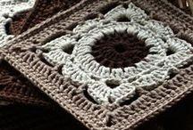 ▣ Hɪᴘ ▪ 2 ▪ ℬ ▪ SqUaRe ▣ / Hip 2 B Square.... crochet squares, crochet hexagons. crochet circles and other crochet shapes