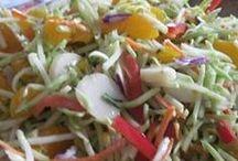 ◖LeTᴛUcⓔ•ℳ@kE•SaⓁaD◗ / Lettuce Make Salad.... Salad Recipes, Jello Recipes, etc