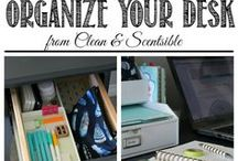 Home Organization / Great tips for organizing your home and getting rid of clutter.  Reclaim your home.