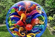 ■□CʜI▪ʜUʟУ□■ / Dale Chihuly glass sculptures .....