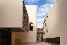 """architecture / """"L'architettura è un fatto d'arte, un fenomeno che suscita emozione, al di fuori dei problemi di costruzione, al di là di essi. La Costruzione è per tener su: l'Architettura è per commuovere. """" Le Corbusier  / by Vera Izzo"""