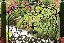 Portals to Beyond / Garden entries that invite and entice to.......
