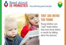 Growing a Reader / Tips and activities help children get ready to read and *keep* them reading once they start! / by East Greenbush Community Library