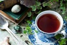 "Tea / ""Tea in the morning, tea in the evening, tea at supper time! You get tea when it's raining, tea when it's snowing, Tea when the weather's fine!"" Ray Davies"