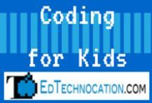 Coding for Kids / Websites, apps, and resources for teaching your students how to code.