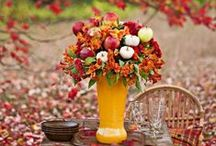 Shades of Autumn / Seasonal flowers for that time of misty mellow fruitfulness