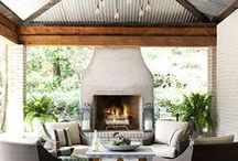 Outdoor Living / Beautiful Outdoor Living Ideas and Spaces