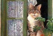 Cats in Windows