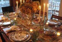 Pretty Tables / by Catherine Carey
