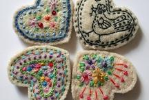 fiber arts & sewing / by jen