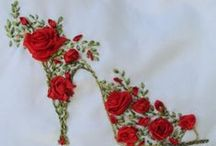 Embroidery and Ribbon / by Gloria McDermott