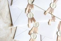 Stationery & Invitations : Blush, Pink & Neutrals