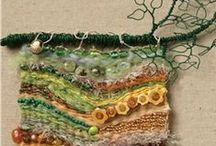 Dream WEAVER / weaving, yarn, string / by Sherri Frazier