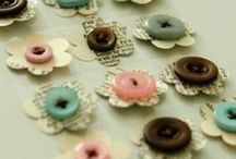Button Button Who's Got the BUTTON? / Buttons for crafts, home decor, sewing / by Sherri Frazier