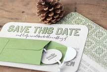 #Paper 'n Things / #paper #design for #weddings and #events. #Invitations #savethedates #menus / by Belle'Ham Wedding & Events