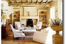 Vignettes d' Interieurs / J'aime l'espace, interiors that inspire me.