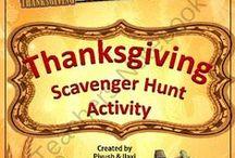 November / Thanksgiving, Celebrations, Holidays and Themed Topics