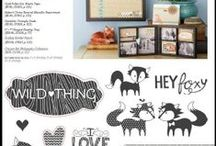 CTMH Stamp of the Month / acrylic stamps, Close to My Heart, stamps, $5