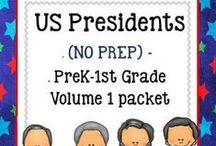 Presidents Day / by Teacher's Notebook