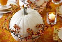 Celebrate FALL and GIVE THANKS / by Sherri Frazier