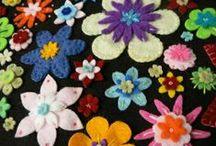 FELT - Flowers / by Sherri Frazier