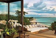 Coastal living / A place by the sea, inspiring coastal images