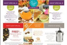 STEEPED TEA - SPECIALS / Special campaigns from Steeped Tea