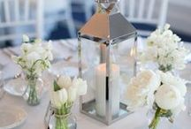 Wedding Centrepieces & Tablescapes / Wedding centrepieces and tablescapes!