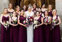 Berry Toned Wedding Inspiration