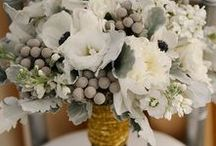 Gray Wedding Inspirations / Gray shades pair nicely with so many colours and hues and makes a great colour choice for any season!