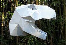 Paper 3D geometric