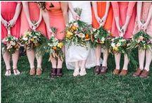 KJP Weddings | Pink, Coral, & Peach Tones / Karyn Johnson Photography weddings featuring pink, coral, peach, blush tones.