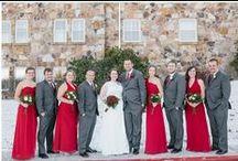 KJP Weddings | Red & Sangria Tones / Karyn Johnson Photography weddings with red, sangria, burgundy, maroon tones