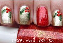 Nail Art - Noël