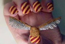Nail Art - Harry Potter