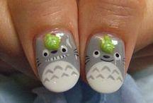 Nail Art - Ghibli