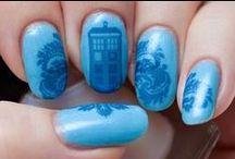 Nail Art - Doctor Who